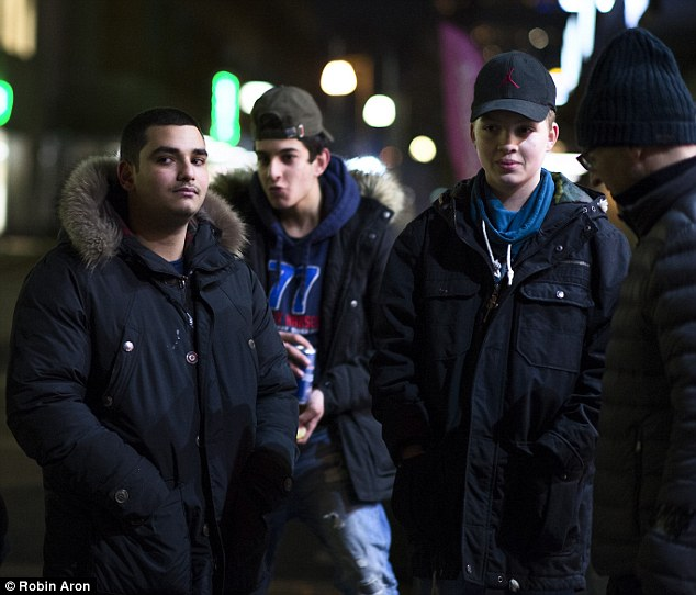 Migrants: The town received £22.6million from the government last year to house young migrants, which is more per capita than any other town in Sweden. Mohamed, 16, an Iraqi Kurd, told MailOnline: 'Mölndal is the best place in the world. I wouldn't want to live anywhere else'
