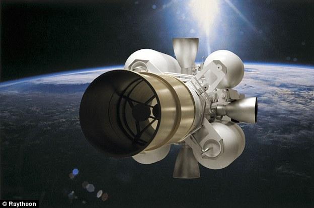 Raytheon's Exoatomospheric Kill Vehicle (EKV) is the intercept component of the Ground Based Interceptor (GBI)