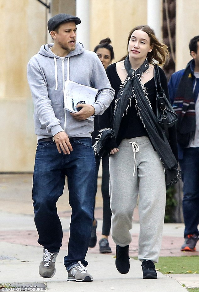 Charlie Hunnam And Girlfriend Morgana McNelis Step Out In