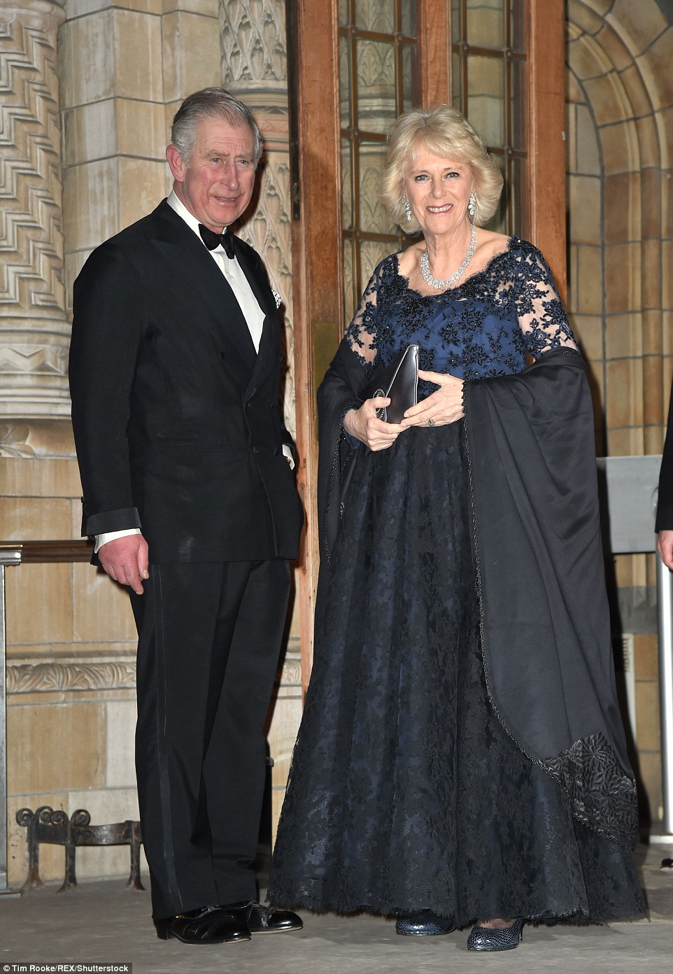 Prince Charles and Camilla, Duchess of Cornwall made for a glamorous couple as they donned their gladrags at the British Asian Trust Dinner, London
