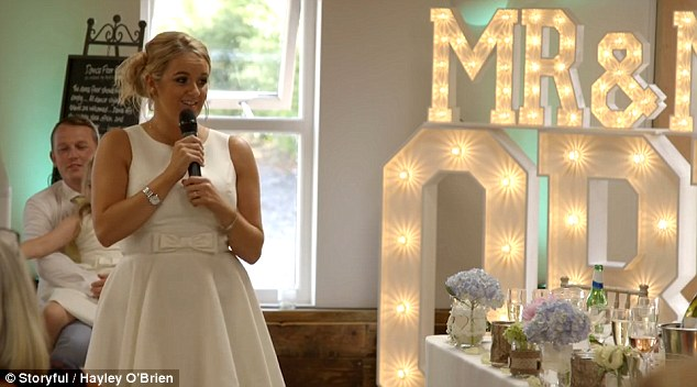 Image result for child giving wedding toast at reception
