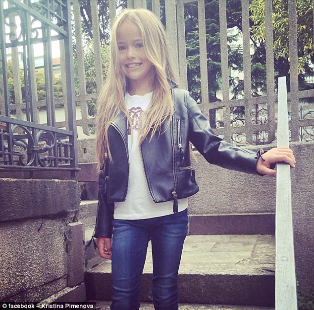 Suggestions that photos of Kristina published on social media are anything but 'innocent' have been dismissed by her mother. She said: ''You must think like a paedophile in order to see something sexual in these pictures'