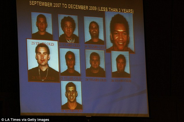Above are pictures of patients who died under care from overdoses from September 2007 to December 2009