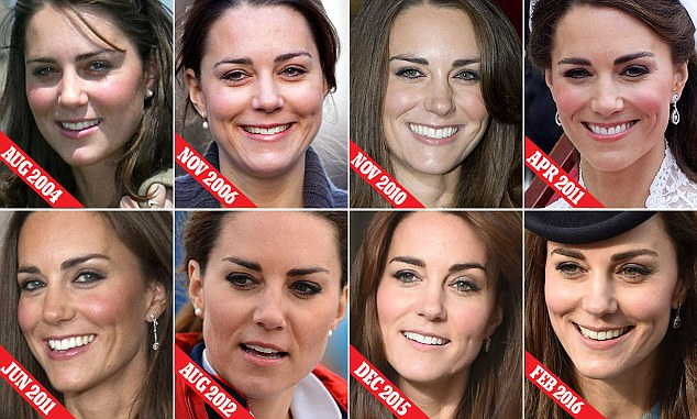 Over the years, the Duchess of Cambridge's eyebrows have changed beyond all recognition — and not always for the better