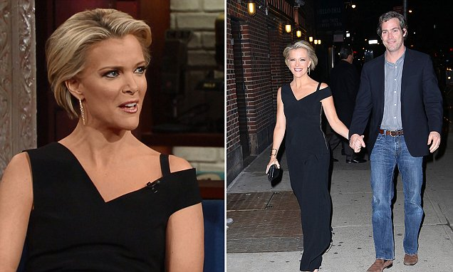 Megyn Kelly Arrives With Husband Douglas Brunt To Late