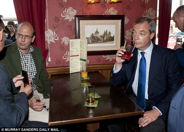 Nigel Farage. pictured with Mark Reckless during the Rochester and Strood by-election in 2014, expressed fears that the Conservatives had breached the spending limits at the time