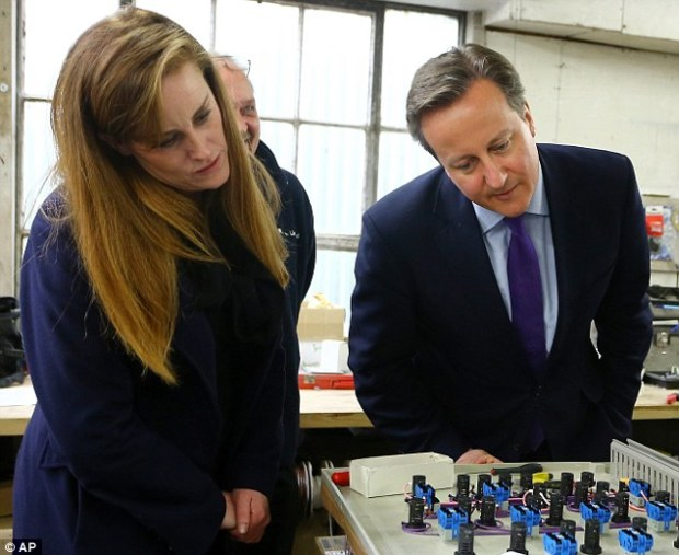 The Tories were accused of breaking spending limits in Rochester, where senior party staff, including David Cameron, pictured with candidate Kelly Tolhurst, made regular visits to the constituency in a bid to beat Ukip