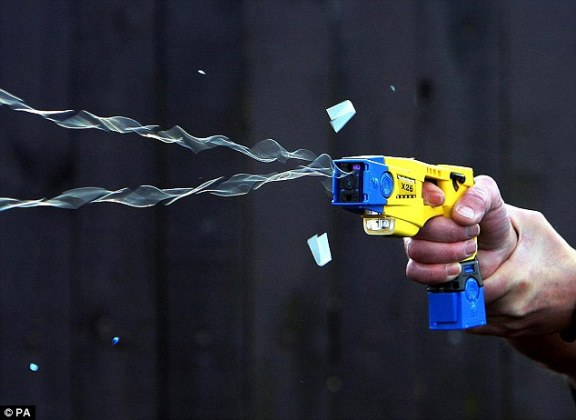 Non lethal weapons like Tasers linked with dementia like symptoms     A new study has raised serious questions about the impact the 50 000 volt  shock delivered by