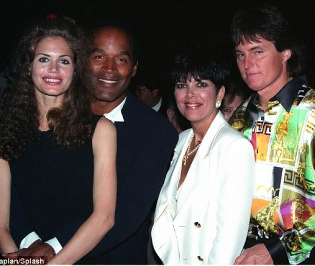 Simpson And Barbieri Here Hanging Our With Kris And Then Husband Bruce Jenner Now