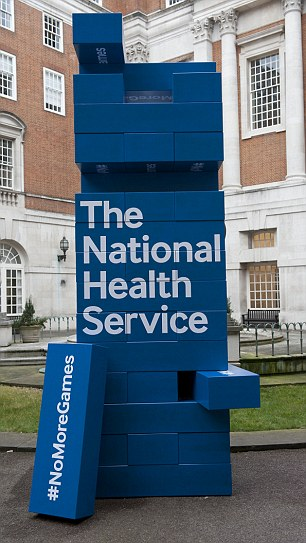 Sir Robert Francis published a report about the abominable treatment of whistleblowers in the NHS (file image)