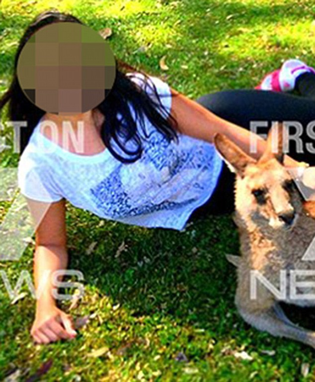 Pictured: One of the two women, who are both overseas tourists, who were allegedly kidnapped, raped and brutally attacked by the 59-year-old man at a remote beach called Salt Creek in South Australia