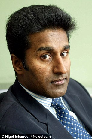 Dr Mattu racked up £1.4 million bills fighting the University Hospitals Coventry and Warwickshire NHS Trust, which will not reinstate him