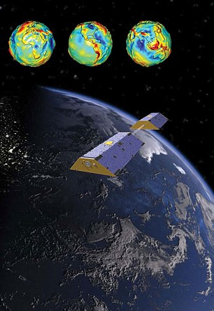 The latest data came from a pair of Nasa satellites launched in 2002, known as the Gravity Recovery and Climate Experiment (Grace) illustrated