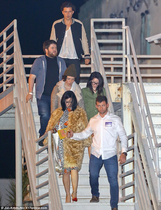 Date night: New squeezes Katy Perry and Orlando Bloom enjoyed a romantic date night at the Adele concert at The Wiltern in Los Angeles on Friday evening