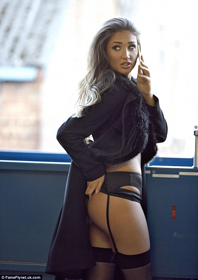 Celebrity Big Brothers Megan McKenna Dons Lingerie After