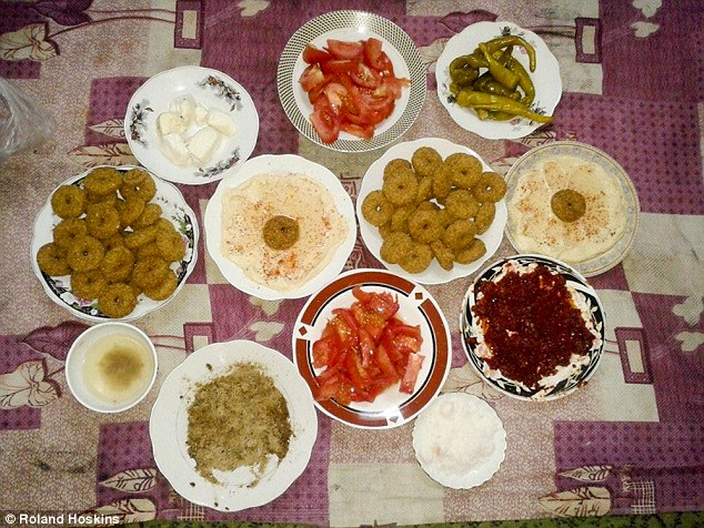 Breakfasts like this from before were a thing of the past, with people eating grass, cats, dogs and donkeys to survive