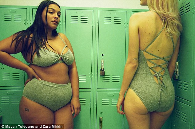 New Zealand brand Lonely picked out two models for its SS16 campaign -Paloma Elsesser, left andArvida Byström, right - because it admired their values and felt that the women were 'more than a pretty face'