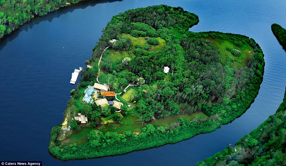 Sir Richard Branson owns the tranquil Makepeace Island off Australia's Sunshine Coast. The secluded sanctuary offers 20 explorers the chance to stay in luxury villas with access to a lagoon pool and island bar