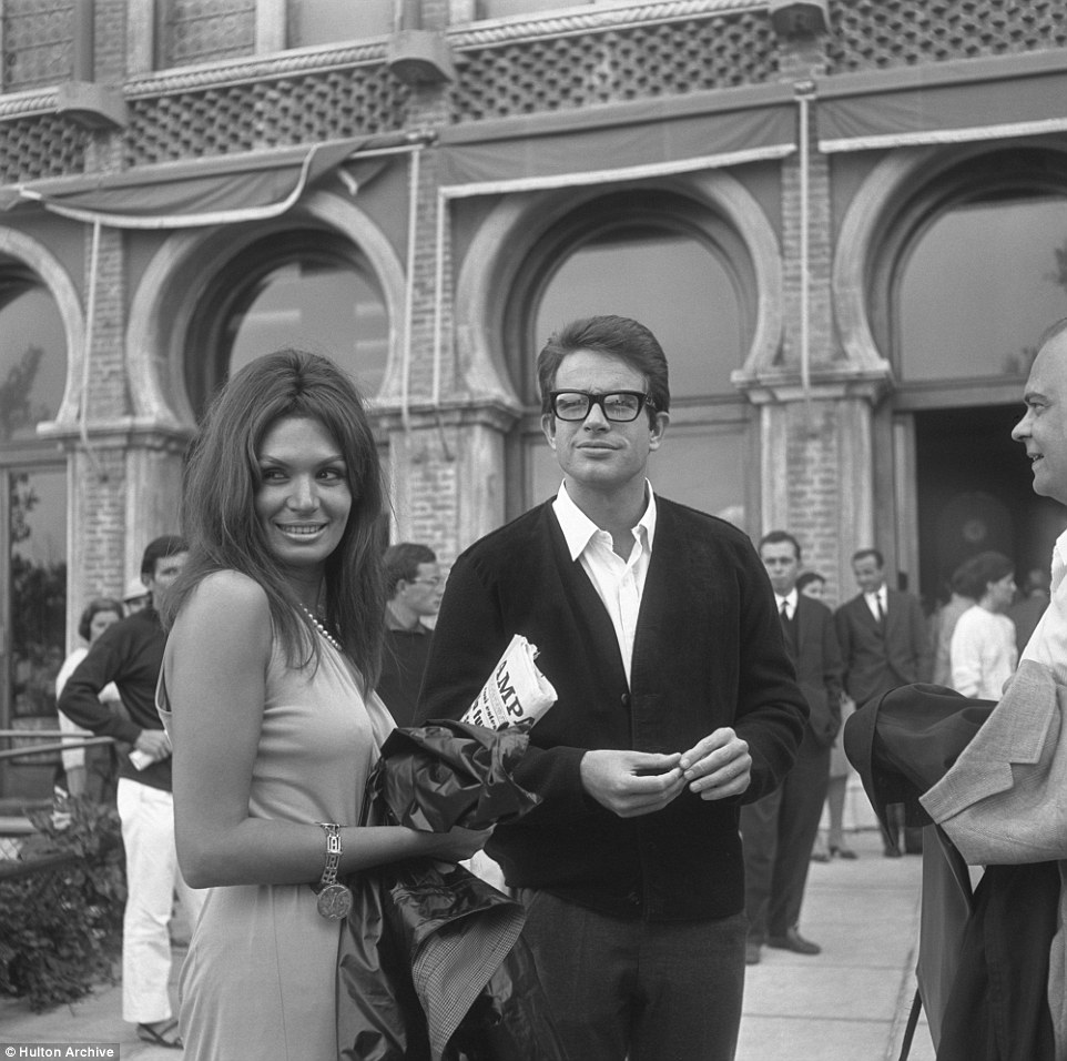 American actor Warren Beatty pictured outside the Excelsior Hotel  in 1965. The hotel was also where the first film festival was hosted