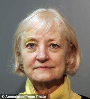 Plane crazy: This February 17 photo shows 64-year-old Marilyn Hartman, a so-called serial stowaway who was arrested again Wednesday at Chicago's O'Hare International Airport