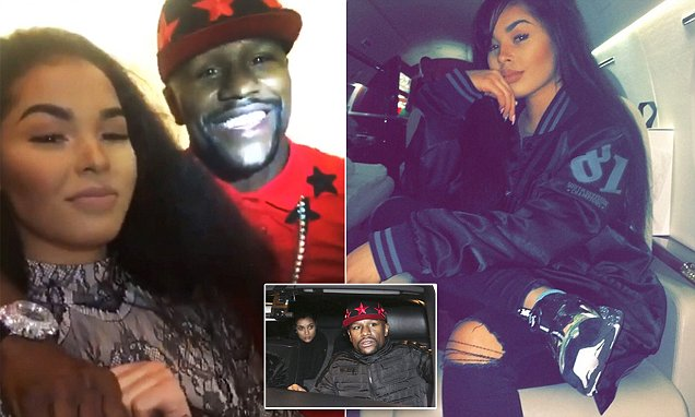 Floyd Mayweather falls for New Look sales assistant Rmarni Ellis