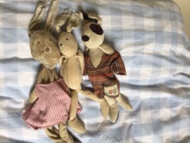 Katie Hopkins says her children sleep with the soft toy bunnies they have had since the day they were born