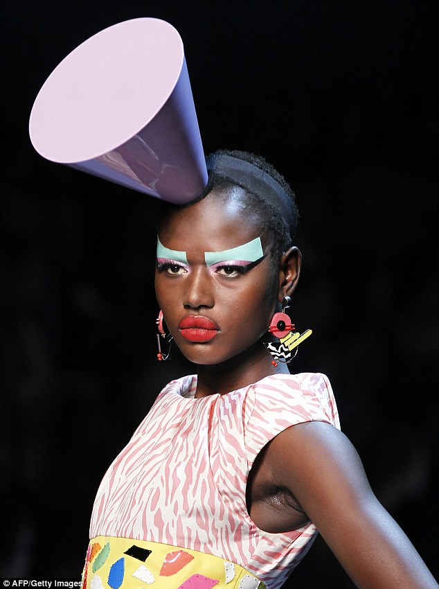 'Put your best foot forward': Australian model Ajak Deng has announced she has quit modelling because she can 'no longer deal with the fakes and lies'