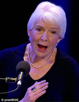 But Dame Janet Smith (pictured today at a press conference) controversially said in her report that the corporation's failure  to stop Hall and Savile was not the fault of senior managers