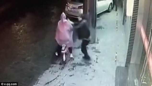 Shocking The Attack Was Filmed On Cctv Showing The Moment The Woman Was Sexually Assaulted