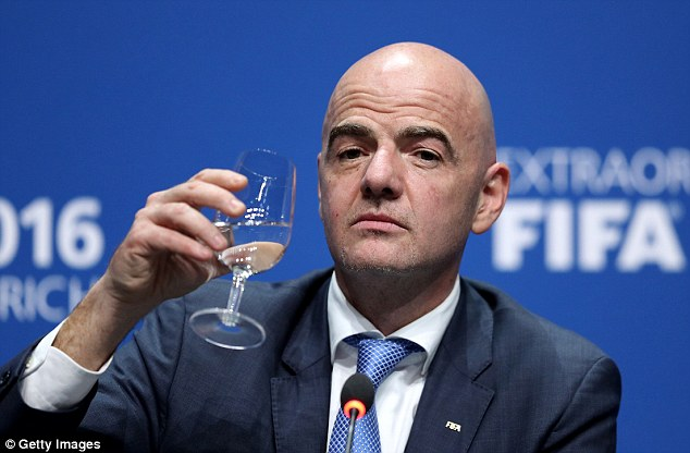 Image result for Gianni Infantino