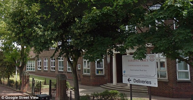 Start: Violence started outside Barking Abbey School before moving on to other locations in the town centre