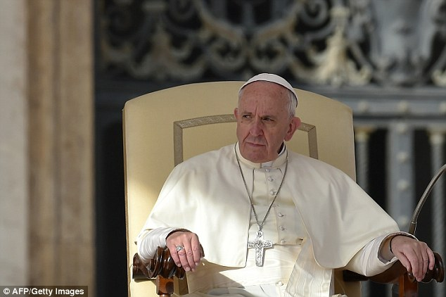Pope Francis described the influx of migrants into Europe as an 'Arab invasion' before explaining that the new arrivals will enhance Europe for the better