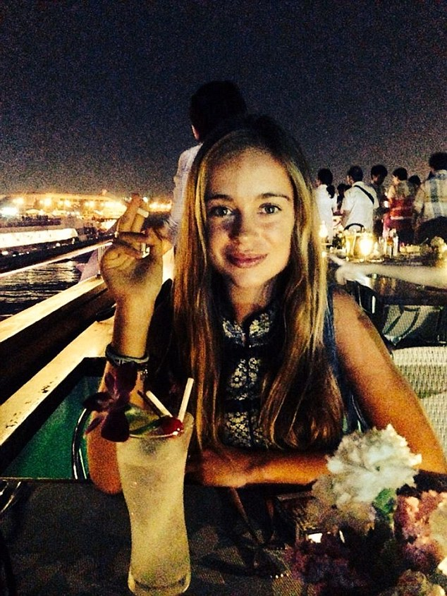 Amelia Windsor is outspoken about her passion for Bloody Mary cocktails. And her apparent motto, as inscribed on a photo in her Instagram account? 'Go hard or go home.'