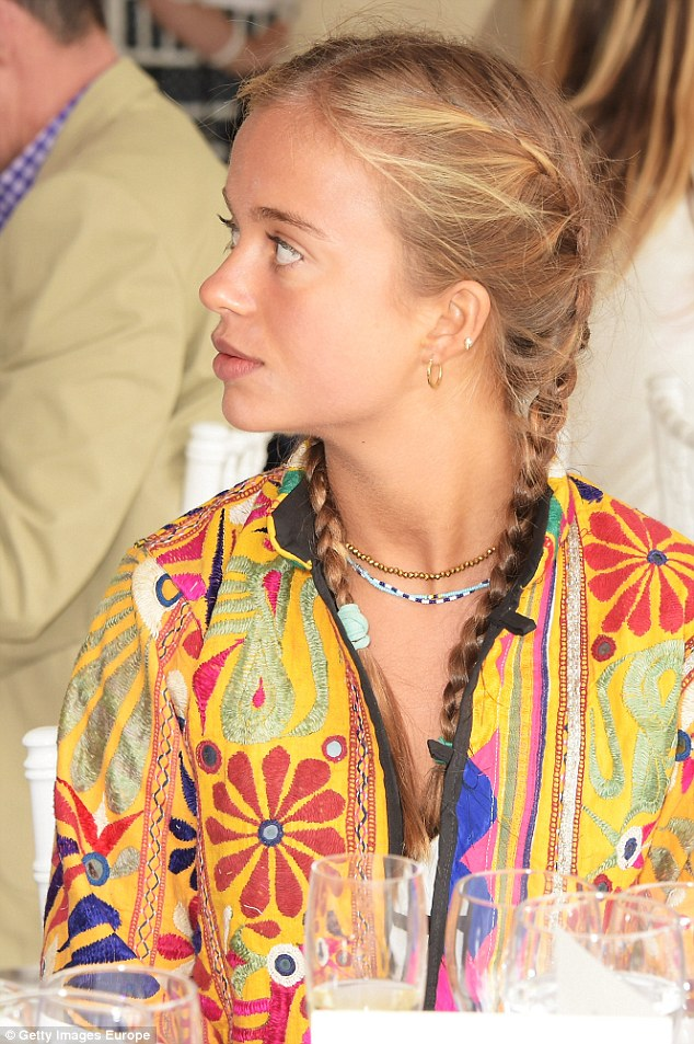 Lady Amelia Windsor attends the Flannels for Heroes charity cricket match and garden party hosted by menswear brand Dockers at Burtons Court