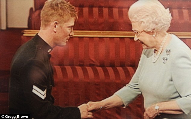 Mr Coult's medals are being sold in a single lot with his other memorabilia including pictures of him with the Queen as she presented him with the Military Cross, which is Britain's third highest military honour for bravery