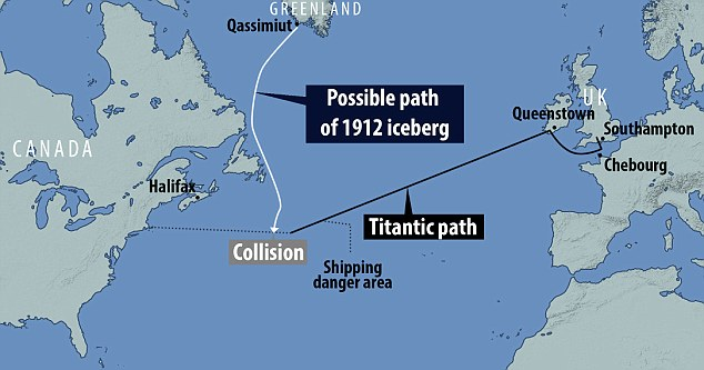 Scientists believe that the huge iceberg is likely to have drifted from the Qassimiut on the southwest coast of Greenland