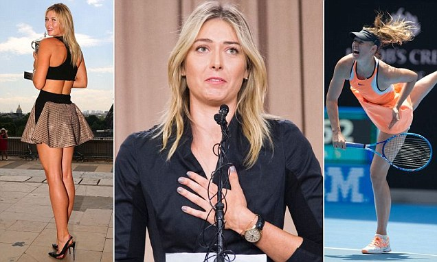 Maria Sharapova FAILED drug test at Australian Open 2016 testing positive for Meldonium