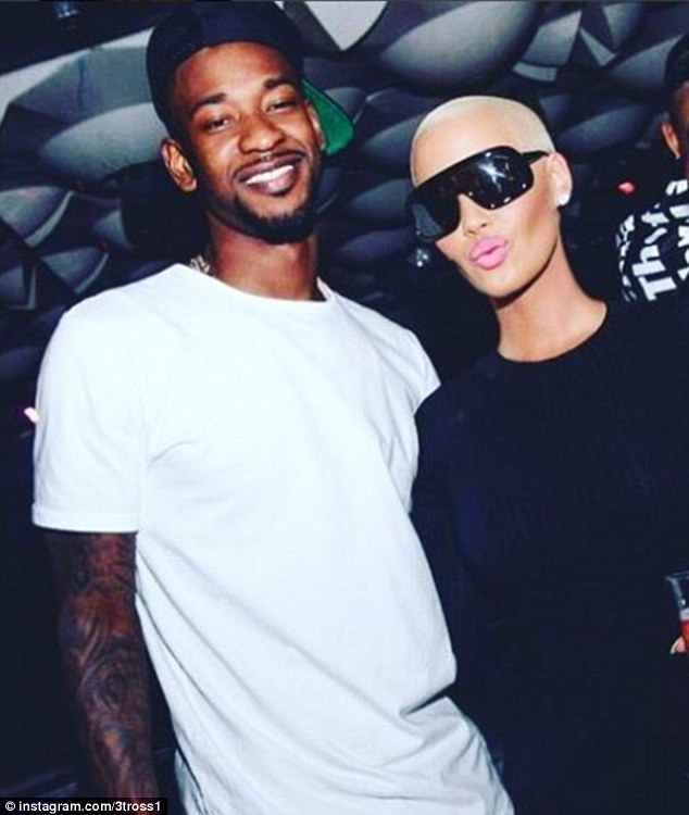 New couple alert: Amber Rose, 32, is dating 25-year-old Toronto Raptors basketballer Terrence Ross according to reports
