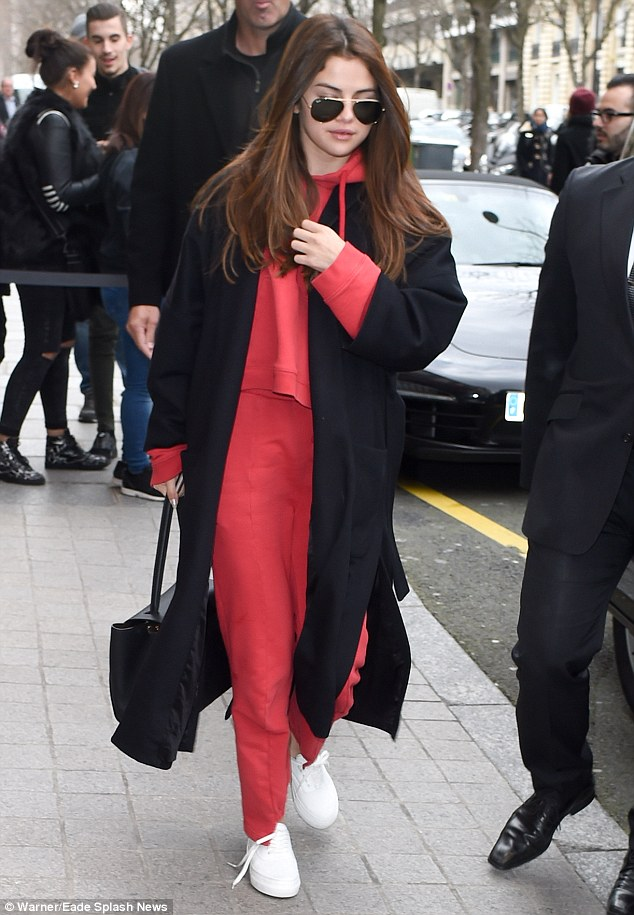 Hello, Fashion Week! Worlds away from the usual Fashion Week attire favoured by front row regulars, the Come And Get It hitmaker ditched her heels in favour of a pair of white trainers as she strode through the city