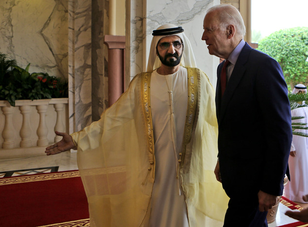 Biden Talks About 'nasty' US Campaign During Mideast Tour