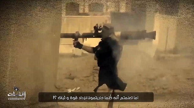 The jihadi tells America it can expect an atrocity similar to the massacre in Paris in November in which 130 people were murdered in a wave of shootings and suicide bomb attacks