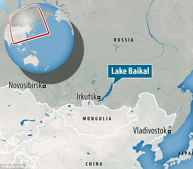... 320f933400000578 0 The Remains At Lake Baikal Siberia Marked On The Map  The World S A 9 ...