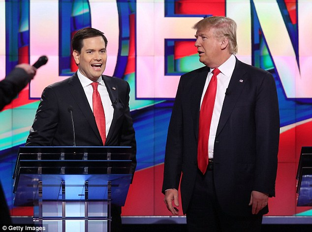 'You can be politically correct if you want,' Trump said ¿ finally breaking the taboo on talking directly to one of his opponents. 'I'm not interested in being politically correct,' Rubio countered