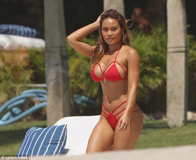 Daphne Joy Wears A String Bikini For Vacation With
