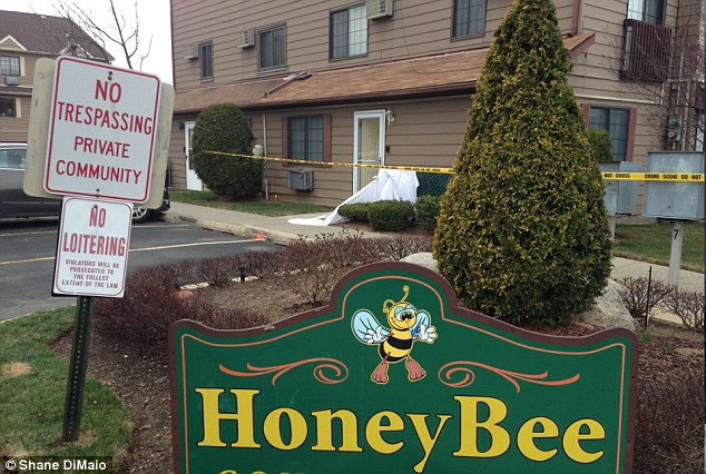 Officers found the unconscious infant at about 11:30 a.m. Saturday outside her apartment in the Honey Bee Condominium