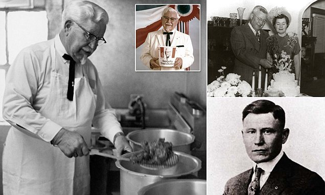 How KFC's Colonel Sanders served dinner to scientists working on Hiroshima bomb | Daily Mail Online
