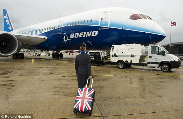 Vote of confidence: Boeing has chosen London as home for its new European headquarters claiming Britain is crucial to its business