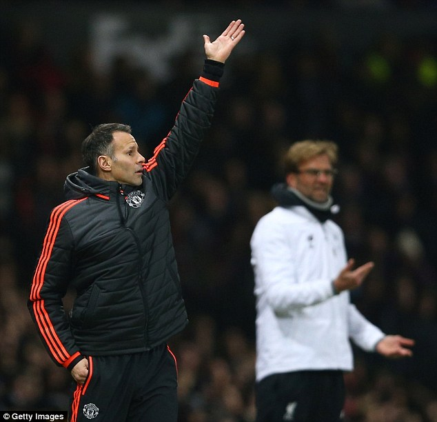 Image result for Manchester United legend Ryan Giggs says he could never manage Liverpool