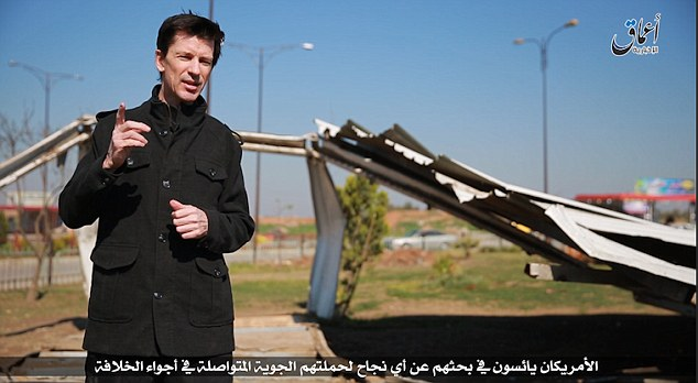 Cantlie, who was kidnapped in November 2012, is shown berating the US-led coalition for bombing a media building in the ISIS-held city of Iraq