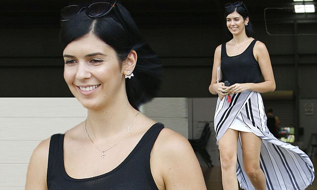 My Kitchen Rules Nelly Flashes Some Flesh As Her Skirt